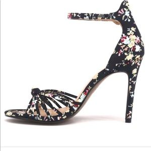 Who what wear knotted floral stilleto